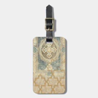 Ornamental Tapestry with Ornate Geometric Design Luggage Tag