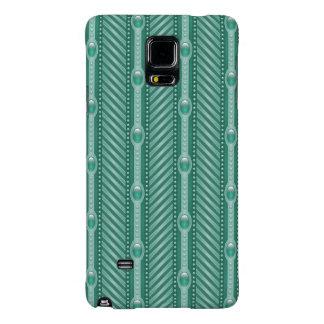 Ornamental Teal Pattern Galaxy Note 4 Case