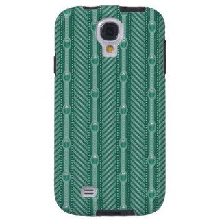 Ornamental Teal Pattern Galaxy S4 Case