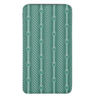 Ornamental Teal Pattern Galaxy S5 Pouch