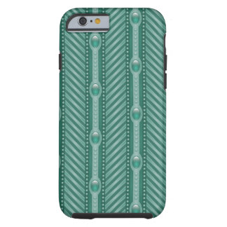 Ornamental Teal Pattern iPhone 6 Case