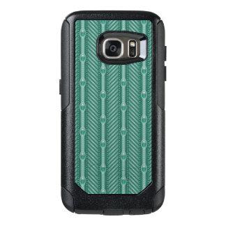 Ornamental Teal Pattern OtterBox Samsung Galaxy S7 Case