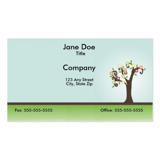 Ornamental Tree Business Card