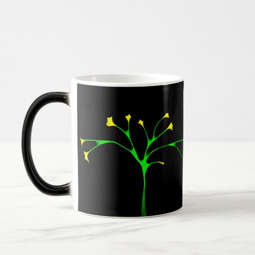Ornamental Tree 11 Oz Magic Heat Color-Changing Coffee Mug