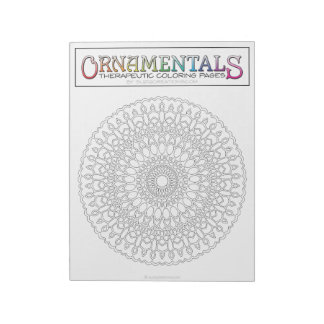 OrnaMENTALs #0013 25 Revolutions Color Your Own Notepad