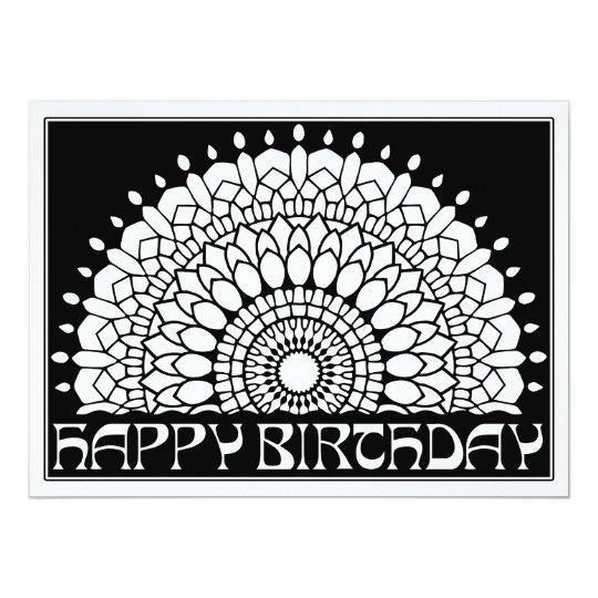Ornamentals happy birthday mandala color your own card zazzle ornamentals happy birthday mandala color your own card bookmarktalkfo Choice Image