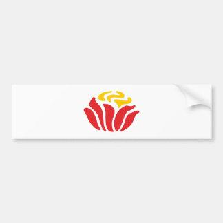 Ornamentation art nouveau kind Nouveau Bumper Stickers