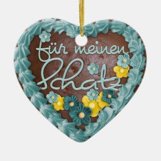 """Ornamentation Heart """"pepper cake"""" Var02 Ornaments"""
