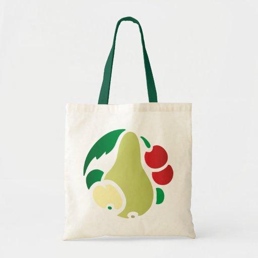 Ornamentation kind Deco pear pear Budget Tote Bag