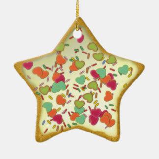 "Ornamentation star ""Christmas cookie"" Var02 Christmas Tree Ornaments"