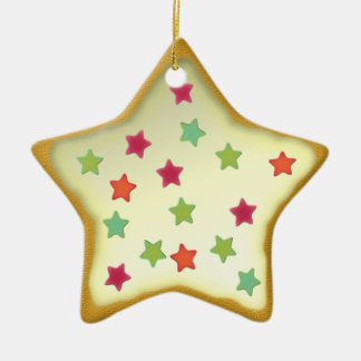 "Ornamentation star ""Christmas cookie"" Var03 Christmas Ornaments"