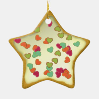 "Ornamentation star ""Christmas cookie"" Var04 Christmas Tree Ornament"