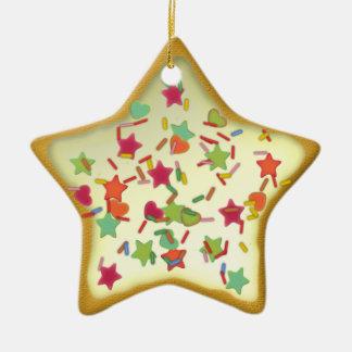 "Ornamentation star ""Christmas cookie"" Var05 Christmas Ornament"