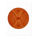 Ornamentation tribal Africa Africa Post Card