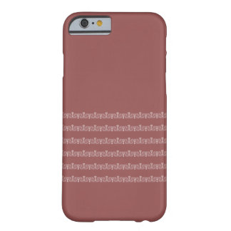 ornamentations your backround barely there iPhone 6 case