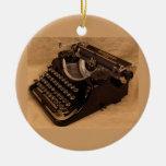 Ornamento 1937 de la máquina de escribir del sotob ornamento para reyes magos