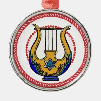 Ornamento 1 de la arpa de Jesse Ornamento Para Reyes Magos