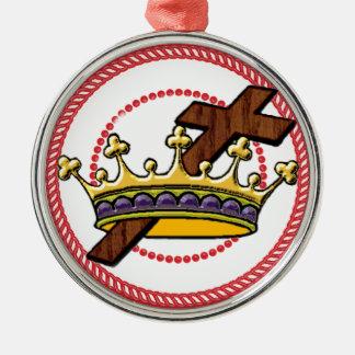 Ornamento 1 de la corona del árbol de Jesse Ornamento De Navidad