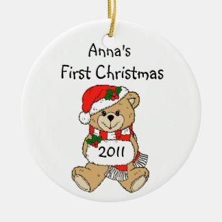 Ornamento 2011 del navidad del nombre de su niño p adornos de navidad