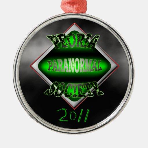 Ornamento 2011 del PPS Adorno Redondo Plateado