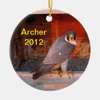 Ornamento 2012 de Archer Adornos De Navidad