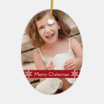 Ornamento 2012 del recuerdo de la foto del navidad ornamentos de navidad