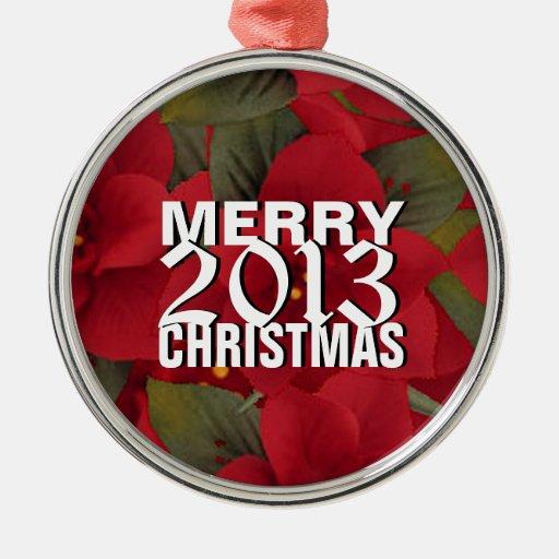 Ornamento 2013 del árbol de las Felices Navidad