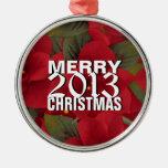 Ornamento 2013 del árbol de las Felices Navidad Adorno Para Reyes