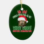 Ornamento 2013 del camello del día de chepa del adornos de navidad