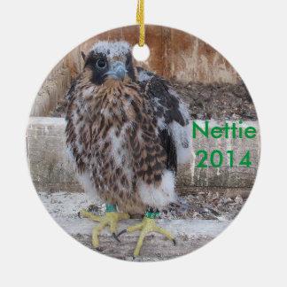 Ornamento 2014 de Nettie Adorno Redondo De Cerámica