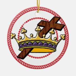 Ornamento 2 de la corona del árbol de Jesse Ornaments Para Arbol De Navidad