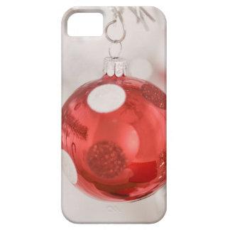 Ornamento 2 del navidad iPhone 5 protectores