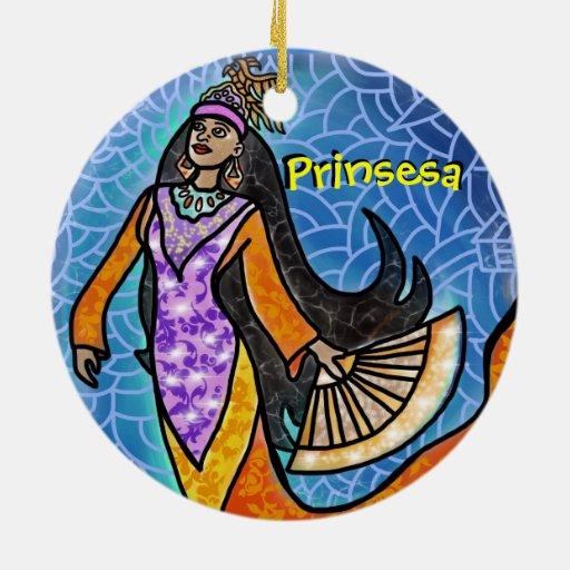 ornamento 2-Sided Ornamente De Reyes