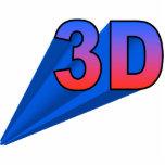 ornamento 3D (encima de la derecha) Esculturas Fotográficas