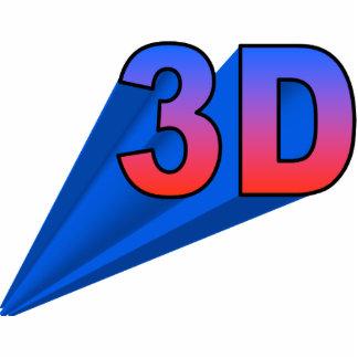 ornamento 3D encima de la derecha Esculturas Fotográficas