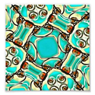 Ornamento abstracto de Digitaces Arte Fotografico
