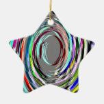 Ornamento abstracto gris del remolino ornamento para reyes magos