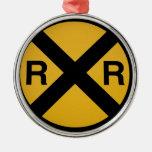 Ornamento adaptable del ferrocarril adorno para reyes