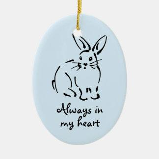 Ornamento adaptable del monumento del conejo adorno