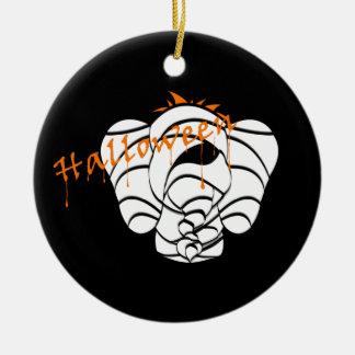 Ornamento afortunado asustadizo de Halloween del Ornamento De Navidad