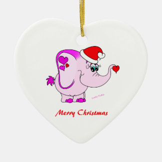 Ornamento afortunado de las Felices Navidad del me Adorno