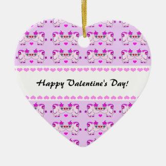 Ornamento afortunado del el día de San Valentín Ornamento Para Reyes Magos