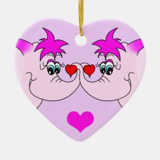 Ornamento afortunado del el día de San Valentín Adorno