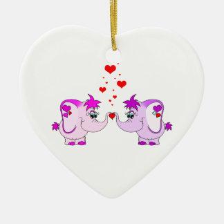 Ornamento afortunado del el día de San Valentín Ornato