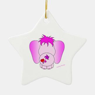 Ornamento afortunado del meñique adorno de navidad