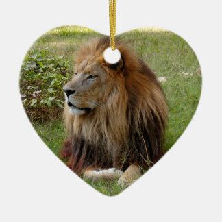 Ornamento africano del navidad del león ornamentos de reyes magos
