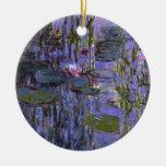 Ornamento - agua Lillies Ornamentos De Navidad