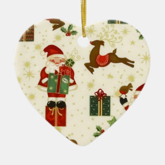 Ornamento alegre del navidad de Santas Ornamento De Reyes Magos