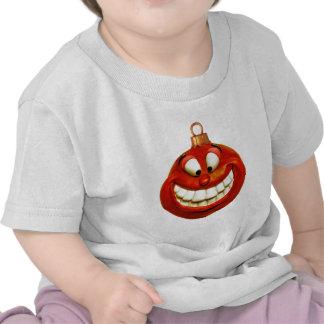 Ornamento alegre del navidad camisetas