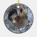 Ornamento americana del gallo adornos de navidad